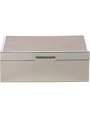WEDGWOOD Grace jewellery box 23cm, Beige