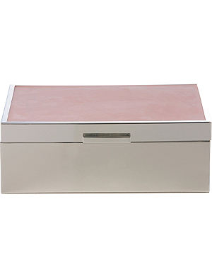 WEDGWOOD Grace jewellery box 11cm, Rose Pink