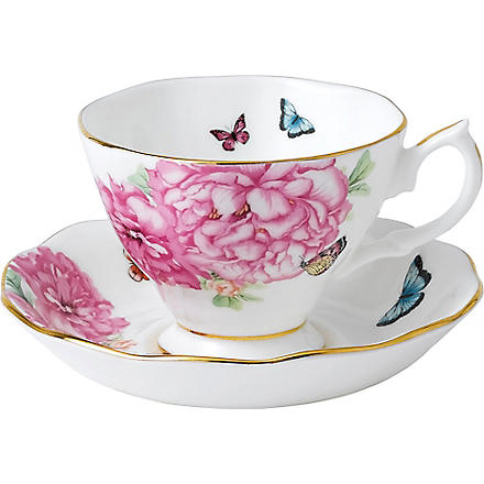 ROYAL ALBERT Miranda Kerr Friendship teacup & saucer