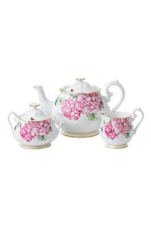 ROYAL ALBERT Miranda Kerr Friendship three-piece tea set