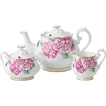 ROYAL ALBERT Miranda Kerr Friendship three-piece tea set