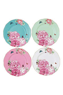 ROYAL ALBERT Miranda Kerr Friendship set of four plates 20cm