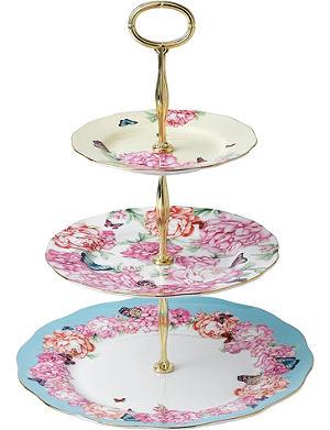 ROYAL ALBERT Miranda Kerr three-tier cake stand