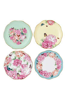 ROYAL ALBERT Miranda Kerr Friendship set of four plates 10cm