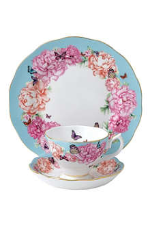 ROYAL ALBERT Miranda Kerr Devotion three-piece teacup, saucer and plate set
