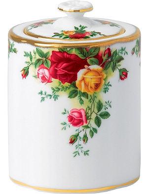 WEDGWOOD Olcoro tea caddy