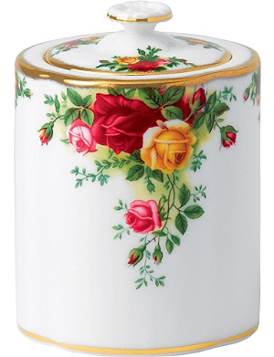 ROYAL ALBERT Olcoro tea caddy