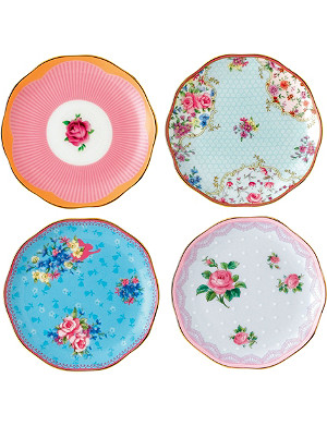 ROYAL ALBERT Candy mini plate set