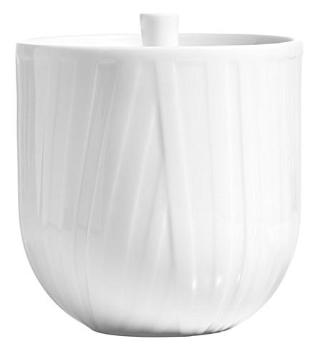 VERA WANG @ WEDGWOOD Vera Organza covered sugar bowl