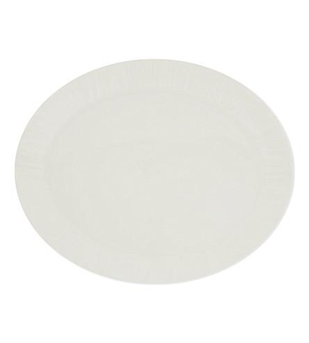 VERA WANG @ WEDGWOOD Vera Organza oval platter