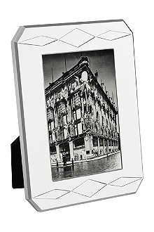 VERA WANG @ WEDGWOOD Silver-plated photo frame 4