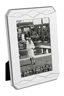VERA WANG @ WEDGWOOD Silver-plated photo frame 5