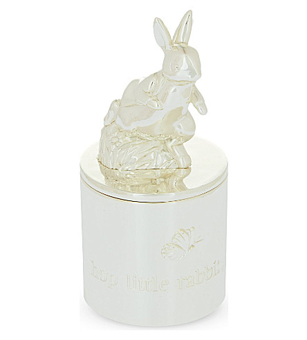 WEDGWOOD Peter Rabbit first tooth box