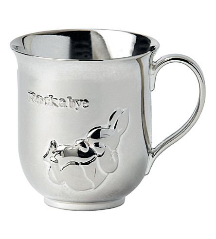 WEDGWOOD Peter rabbit silver-plated baby cup