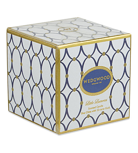 WEDGWOOD Renaissance vanilla & sandalwood candle