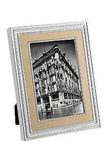 VERA WANG @ WEDGWOOD Silver and gold photo frame 5