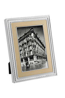 VERA WANG @ WEDGWOOD Silver and gold photo frame 8