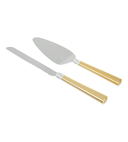 VERA WANG @ WEDGWOOD Cake knife and server