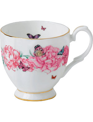 ROYAL ALBERT Miranda Kerr gratitude fine bone china vintage mug