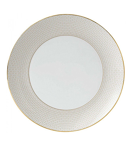 WEDGWOOD Arris china dinner plate 28cm