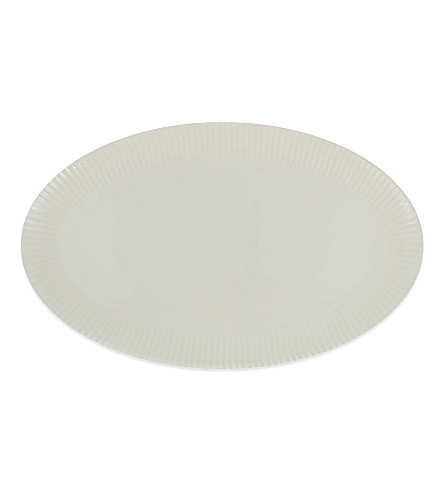 JASPER CONRAN @ WEDGWOOD Tisbury coupe oval platter 48cm