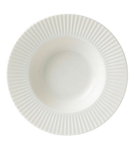 JASPER CONRAN @ WEDGWOOD Tisbury soup plate 25cm