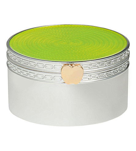 VERA WANG @ WEDGWOOD Treasures with Love apple treasure box