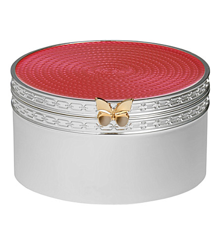 VERA WANG @ WEDGWOOD Treasures with Love butterfly treasure box