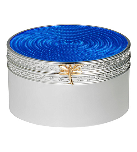 VERA WANG @ WEDGWOOD Treasures with Love dragonfly treasure box