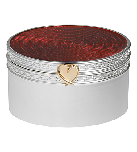 VERA WANG @ WEDGWOOD Treasures with Love heart treasure box