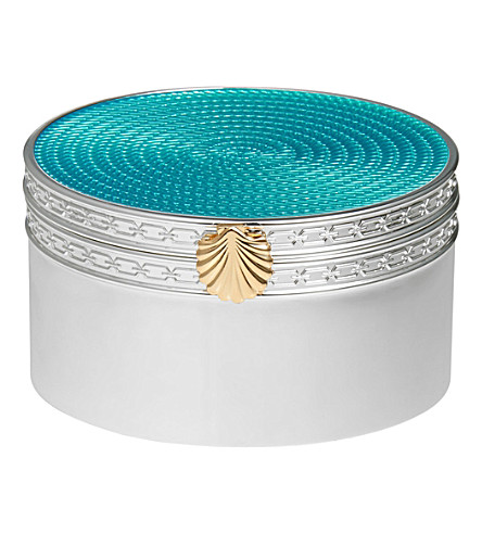 VERA WANG @ WEDGWOOD With Love Treasures seashell treasure box