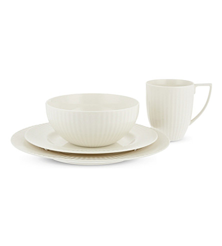 JASPER CONRAN @ WEDGWOOD Tisbury 16-piece porcelain dinner service