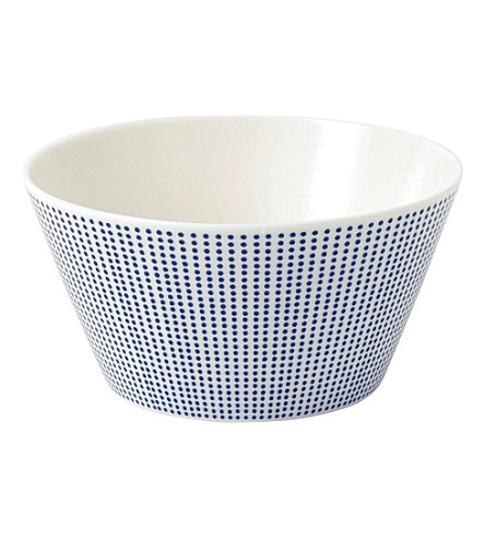 ROYAL DOULTON Pacific dot cereal bowl