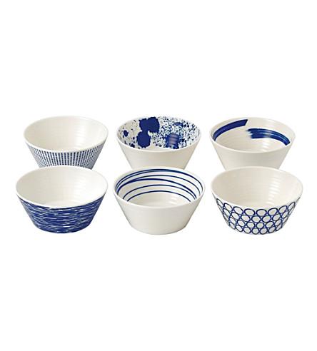 ROYAL DOULTON 太平洋花纹碗套装