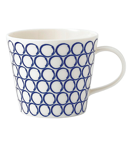 ROYAL DOULTON Pacific circle mug