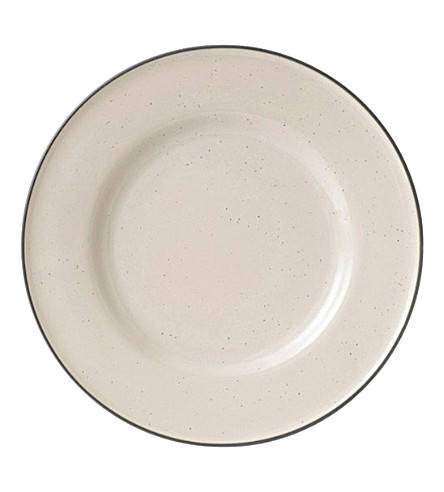 ROYAL DOULTON Cream dinner plate 27cm