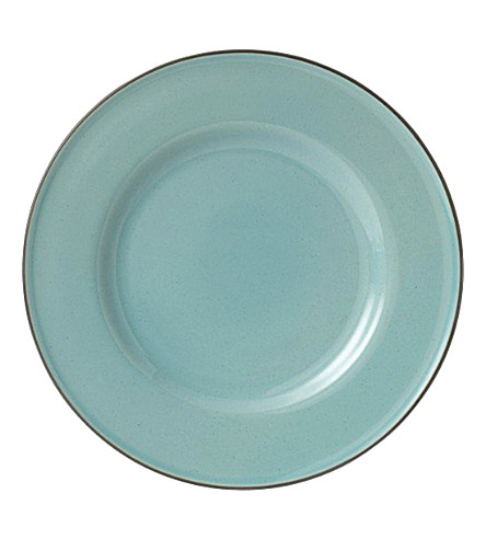 ROYAL DOULTON Blue dinner plate 27cm