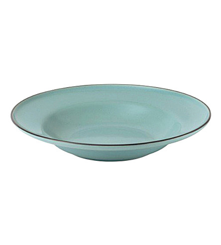 ROYAL DOULTON Blue pasta bowl 25cm