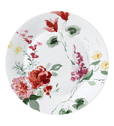 JASPER CONRAN @ WEDGWOOD Floral bone china plate 27cm