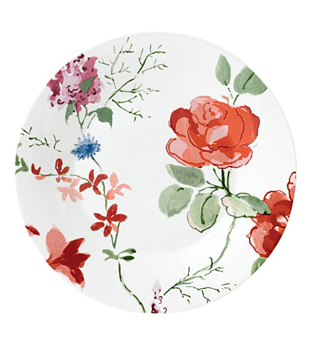JASPER CONRAN @ WEDGWOOD Floral bone china plate 23cm