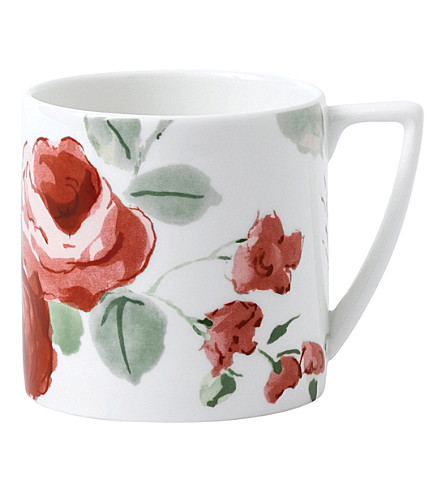 JASPER CONRAN @ WEDGWOOD 花卉骨瓷迷你杯