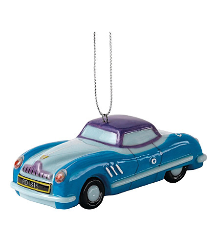 ROYAL DOULTON Car christmas tree decoration