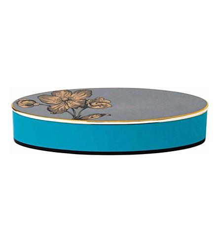 WEDGWOOD Vibrance oval lidded china box
