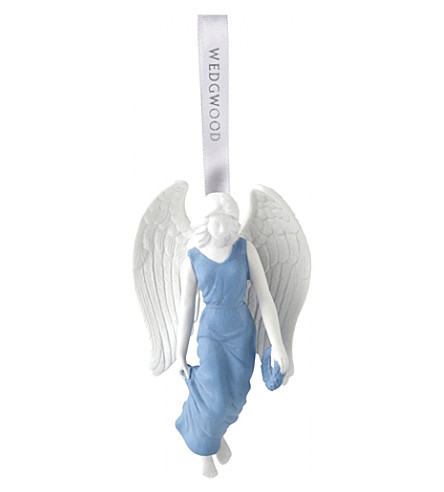 WEDGWOOD Figural angel christmas tree decoration