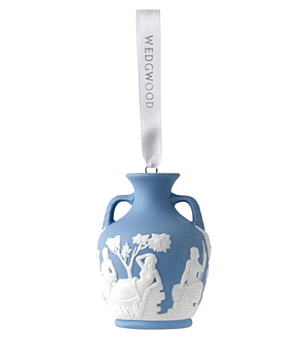 WEDGWOOD Portland vase christmas tree decoration