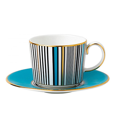 WEDGWOOD Vibrance china espresso cup and saucer