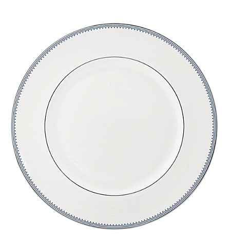 VERA WANG @ WEDGWOOD Border-trim China dinner plate