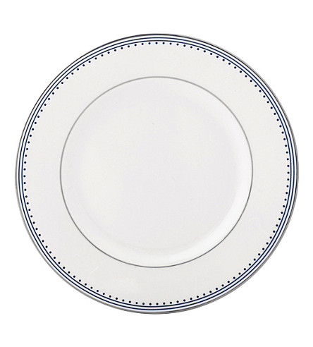 VERA WANG @ WEDGWOOD Border-trim China bread and butter plate