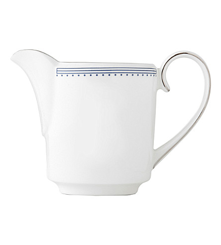 VERA WANG @ WEDGWOOD Grosgrain bone china cream jug 14cm