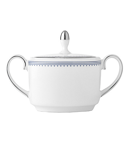 VERA WANG @ WEDGWOOD Border-trim China sugar pot